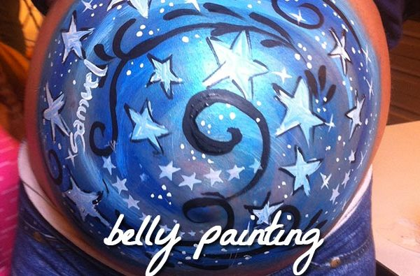 animazione belly painting
