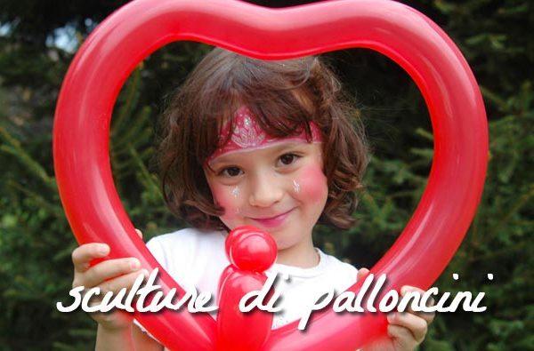 animazione sculture palloncini