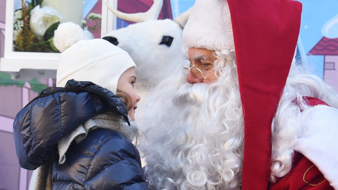 Babbo Natale animazione